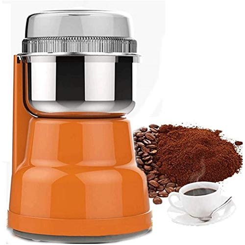 ZOUSHUAIDEDIAN Multifunction Smash Machine Electric Food Grinder Coffee Bean Seasonings Spices Grinder Electric Milling Machine Grinder for Daily Use,The Best Gift for Coffee Lovers,300W