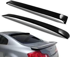 2003 - 2007 Infiniti G35 Coupe Rear Window Roof Spoiler Black