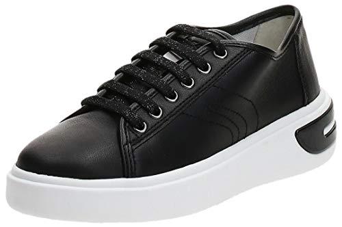 Geox D Ottaya A, Zapatillas Mujer, Negro (Black C9999), 40 EU
