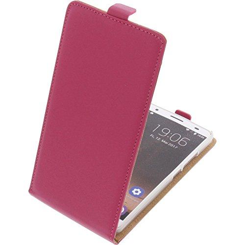 foto-kontor Tasche für Oukitel K6000 Plus Flipstyle Schutz Hülle Handytasche pink