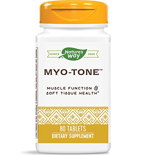 Nature's Way Myo-Tone Supports Healthy Muscles, Tendons and Ligaments, 80 Tablets (Packaging May Vary)