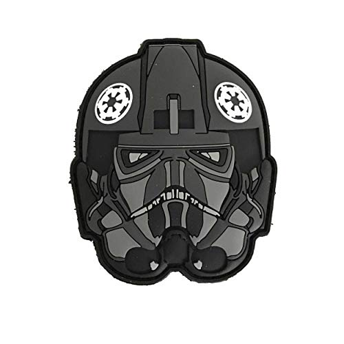 Cosplay kostuum 501 Imperial Pilot PVC helm patch