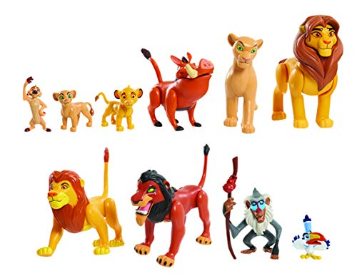 JP Lion King LNN08000 The Lion King Deluxe Figuren-Set, Nylon/a