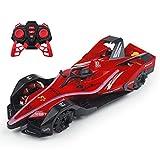 #N/D Drift Stunt Car Juguetes eléctricos Modelo de coche de alta velocidad Fórmula 1 coche de carreras luz fresca Spray coche 2.4 GHz inalámbrico RC coche