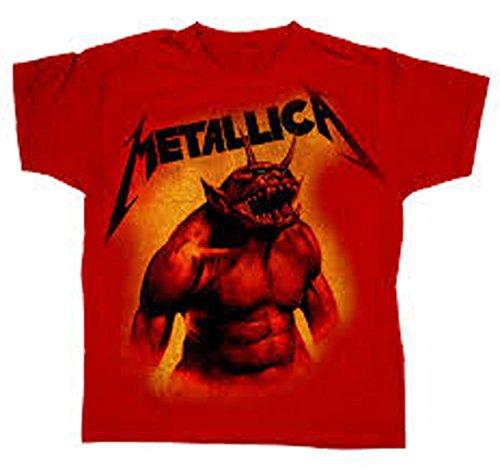 Officiële Metallica - Springen in het vuur - Rode peuter t-shirt
