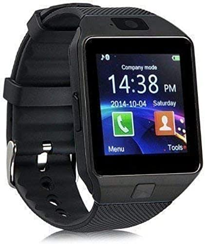 Generic Smart Watch M9 Bluetooth Smartwatch Compatible With All Mobile Phones For Boys And Girls Black
