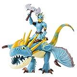Dragons 6052269 - Movie Line Dragon & Vikings - Sturmpfeil und Astrid (Solid), Actionfiguren Drache & Wikinger, Drachenzähmen leicht gemacht 3, Die geheime Welt