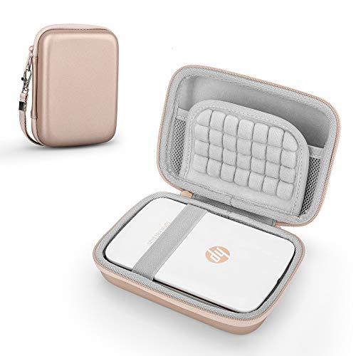 Funda para HP Sprocket Plus impresora fotográfica, bolsa protectora (Rose Gold)