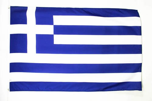 AZ FLAG Flagge GRIECHENLAND 150x90cm - GRIECHISCHE Fahne 90 x 150 cm - flaggen Top Qualität