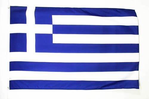 AZ FLAG Flagge GRIECHENLAND 150x90cm - GRIECHISCHE Fahne 90 x 150 cm feiner Polyester - flaggen