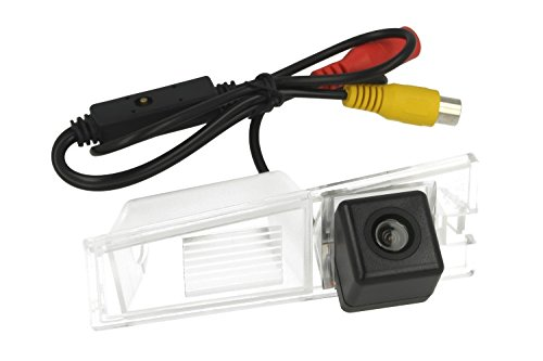 Achteruitrijcamera voor kentekenplaatverlichting Technische gegevens Cadillac CTS Linea rail effect spiegel selecteerbaar