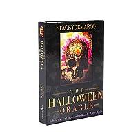 The Halloween Oracle EGuideブック付きの完全英語版のタロットデッキEinstructionカードゲーム占いゲームは運命予測カードゲームを設定します