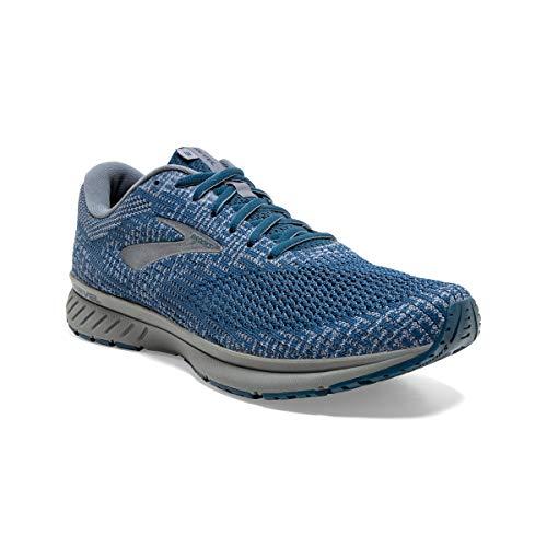 Brooks Revel 3 Running Shoe Navy/Flint Stone/Grey 10 D (M)