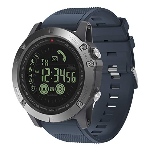 ShiningXX VIBE3 Rugged Smartwatch 33 Monate Standby-Zeit 24 Stunden Allwetterüberwachung Smart Watch für iOS Android Watch