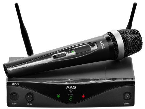 AKG Pro Audio WMS420 Vocal Set Band U2 Wireless Microphone System