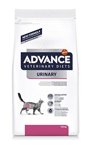 Advance Veterinary Diets pienso para Gatos trastornos Urinaires 1,5kg–Pack de 8