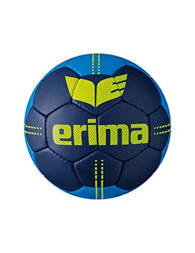Erima Erwachsene Pure Grip NO. 2.5 Handball, New Navy/Lime, 3