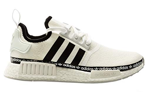 adidas NMD_R1, Sneaker Mens, Footwear White/Core Black/Footwear White, 39 1/3 EU