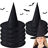 McNory 8 Pièces Chapeau de Sorcière Halloween,Halloween DéCoration,Sorcière Femme...