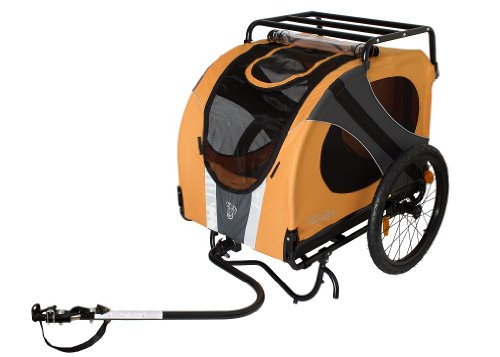 DoggyRide Novel Pet Bike Trailer