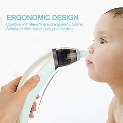 Baby Nasal Aspirator Electric Nasal Aspirator Nose Mucus Boogies Vacuum Cleaner Safe Hygienic Nose Cleaner for Newborn Babies