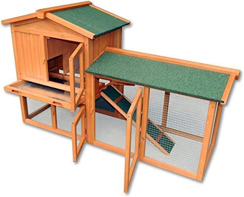 Doppel Hase Doppelholzmöbel, vielseitig und kalt,Wood