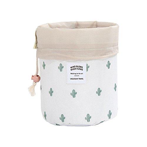 Umiwe, Reise-Kosmetiktasche, wasserdicht, Make-up-Tasche, mit Multifunktion, Kulturbeutel cactus
