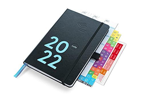 weekview compact note 2022 Plus | der clevere Wochenplaner! Mit großem Notizteil / A6+ (12x18cm)