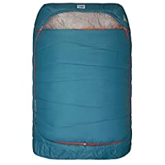Loaded with FEATURES for two: independent ventilation, fully removable zip off top layer, two built in blankets, two way zip foot vents, oversized Hood large enough to fit 2 standard pillows from home. Cloud loft insulation: compressible, quick dryin...