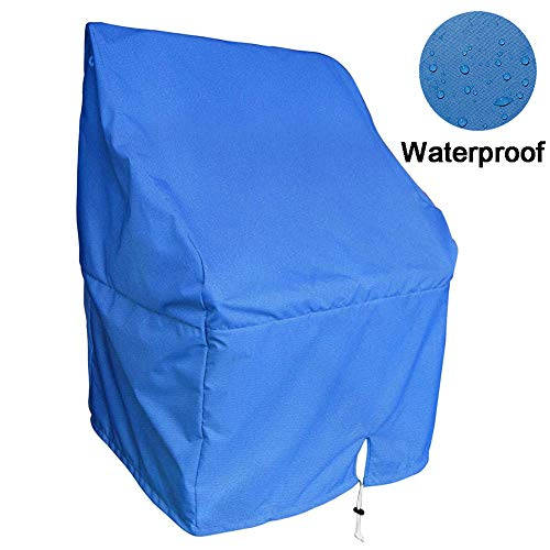 Boat Center Console Cover - Heavy Duty 600D Waterproof Rainproof Upgraded Marine Grade Oxford Fabric Pontoon Boat Console Cover (Small)