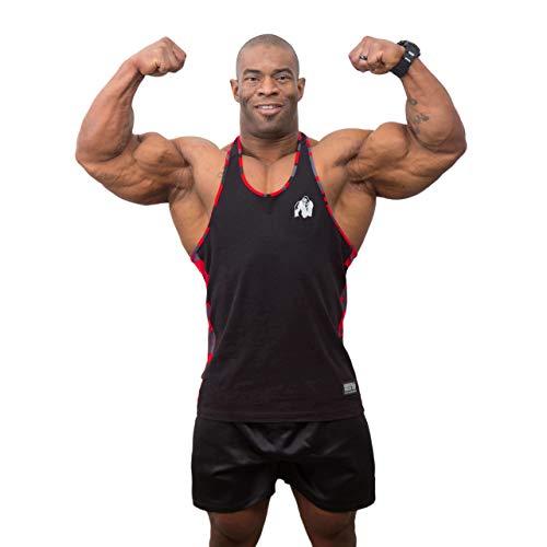 Gorilla Wear Classic T-Shirt Bodybuilding Fitness Tee Gym Wear Schwarz Grün