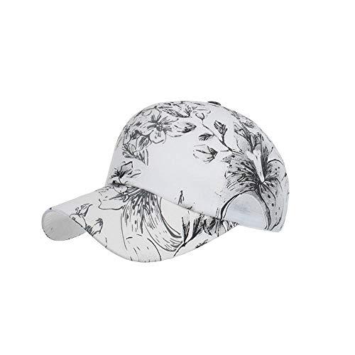 Casquette Homme Chapeau Femmes Floral Mesh Casquette De Baseball Fashion Lady Outdoor Snapback Sport Leisure Hat Noir
