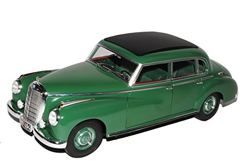 Norev Mercedes-Benz 300 W186 Grün Adenauer Limousine 1951-1957 1/18 Modell Auto