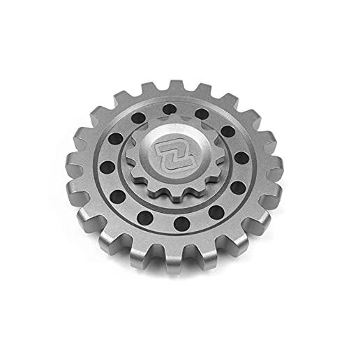 HBBOOI Gear Hand Spinner Acero Inoxidable/Aleación De Titanio Fidget Toys Spinner R188 EDC Finger Relieve Stress TDAH Juguetes para Niños Adultos