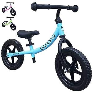 Banana Bike LT - Bicicleta Sin Pedales Ligera - Niños 2, 3 y 4 Años (Azul)
