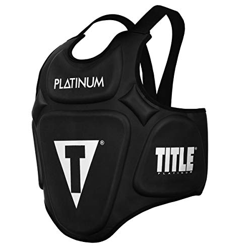 Title Boxing Platinum Prolific Body Protector Black