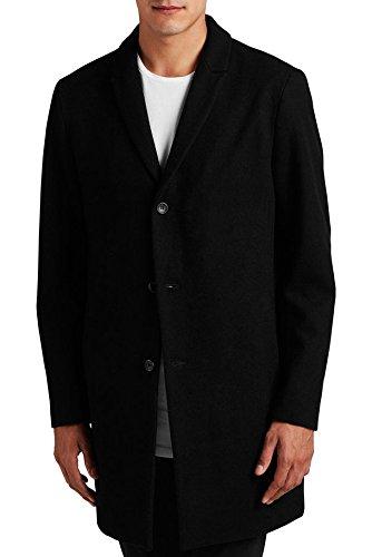 Cappotto Christian chiusura con Bottoni Nero 12108668 ? Jack & Jones Vintage, L