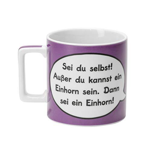 Sheepworld Wortheld Tasse 43283 , Einhorn-Design, Tasse aus Porzellan