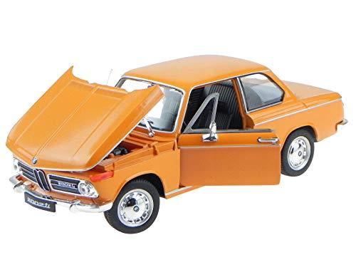2002 BMW Ti Orange 1/24 by Welly 24053