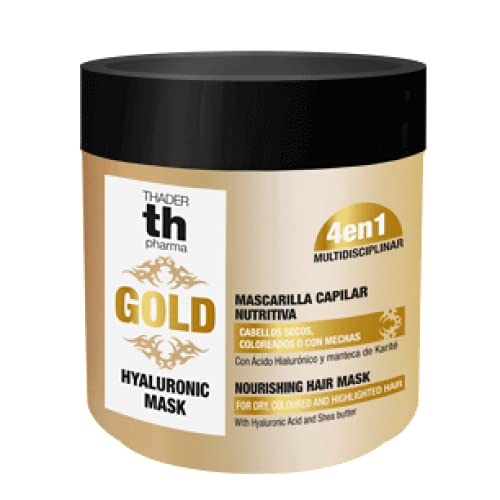 Mascarilla capilar nutritiva Mask Hyaluronic Gold 400 ml