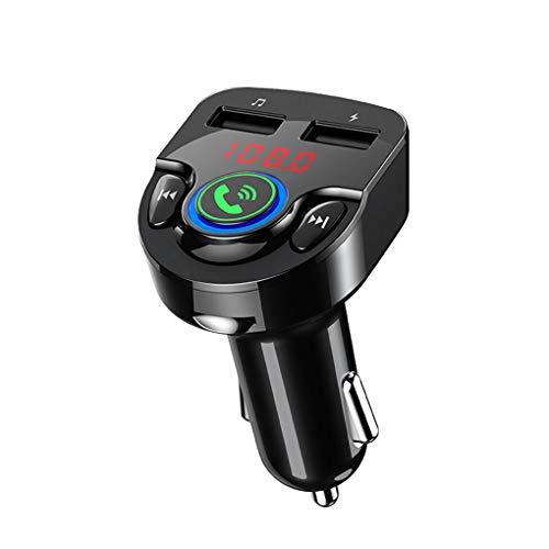 LEVEL GREAT Adaptador de Cargador USB para el Coche Transmisor FM G32...