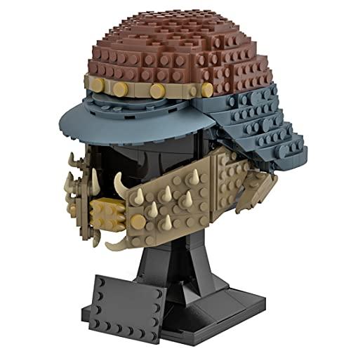 LOTSOFUN MOC-66417 - Juego de construcción de casco para adultos, decoración, idea de regalo, modelo para construcción y exposición, compatible con Lego Star Wars – 598 piezas