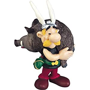 Asterix and the boar Figure by Plastoy 2