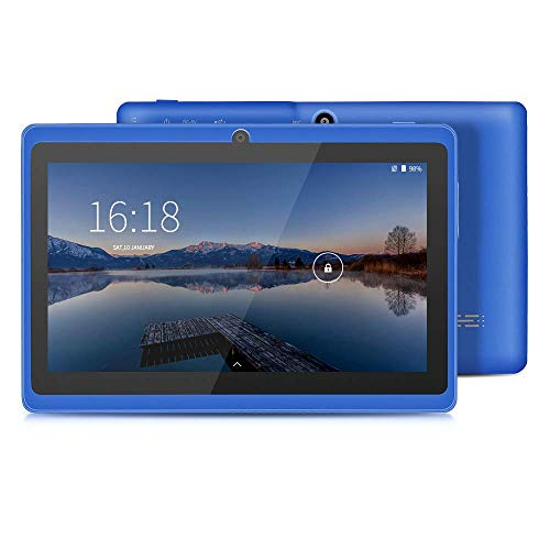 YUNTAB Tablet 7 Pulgadas Android ,Procesador Quad-Core 1.5GHz,1GB de RAM, 8GB de ROM,WiFi,Bluetooth,Doble Camara,Google Play,OTG(Negro)