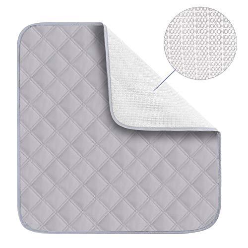 Große saugfähige waschbare Inkontinenz-Sitzschoner für Inkontinenz-Stuhl, wasserdicht, waschbar, saugfähige Unterlagen für Erwachsene, Kinder, Baby, Haustiermatte, 55 x 53 cm