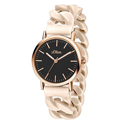 s.Oliver Time Unisex Erwachsene-Armbanduhr SO-3419-PQ