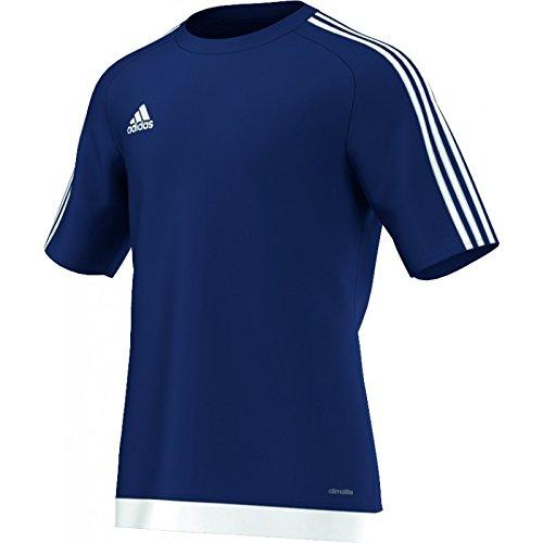 adidas Herren Fußballtrikot Estro 15, dunkel blau/Weiß, M, S16150