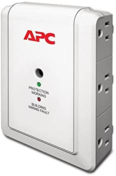 APC P6W 6-Outlet Wall Surge Protector 1080 Joules