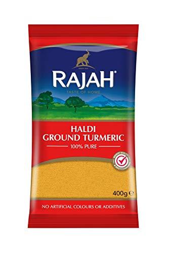 Rajah Spices Haldi Ground Turmeric | Holud | Haldi | Haldar | Haladi | (400g)