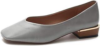 [Cici-shop] ぺたんこ靴 走れるパンプス バレエシューズ 撥水加工 防水性 レディース 女性らしさ エレガント スクエアトゥ オシャレ ローヒール エナメル